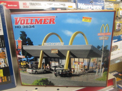HO Scale McDonald's