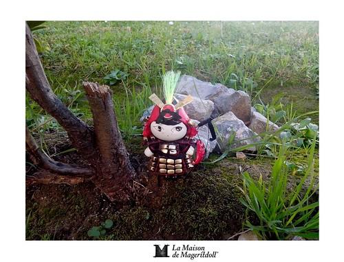 Mageritdoll:  Samurai - ONNA BUGEISHA (Resin Art Doll Jewelry - Joyas de Muñeca. Muñeca artística resina) by La Maison de Mageritdoll