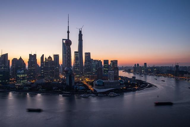 Cityscape of Shanghai City