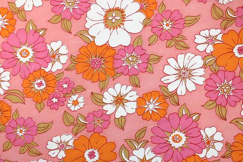 flower power in pink & orange