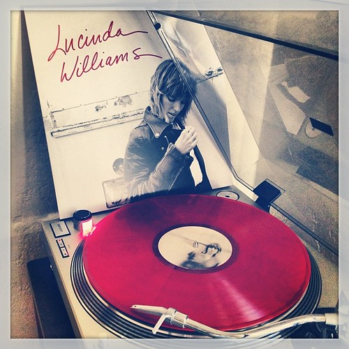 #preflightsounds #lucindawilliams #redvinyl #pledgemusic #nowspinning #photographicplaylist #clubrpm #vinyligclub #mondaymorningsoundslikethis #lu by Big Gay Dragon