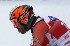 Jan recovers after leaving everything on the hill for a second place finish in Val Gardena, ITA