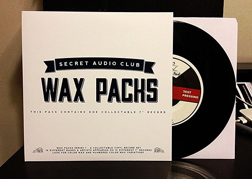 "Wax Packs: Marathon / Fire When Ready - Split 7"" - Test Pressing (/20) by Tim PopKid"