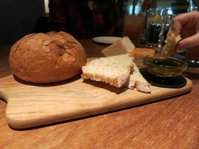 Bread board at Tempus