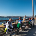 Enjoying lunch looking at Tomales bay by masayoshi.k