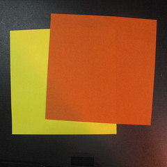 สอนวิธีพับกระดาษเป็นดาวกระจายนินจา (Shuriken Origami) - 001