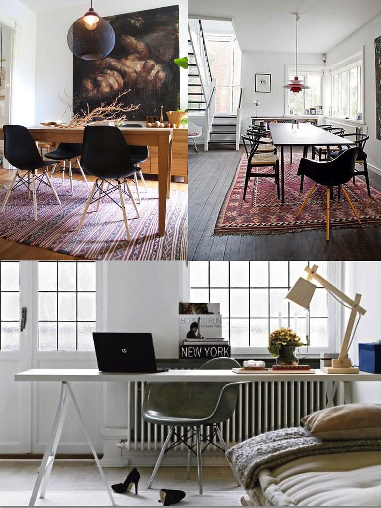 Decoración silla Eames
