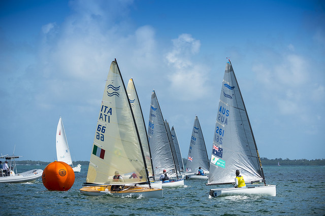 Sailing World Cup 2014, Miami: Medal Race FInn