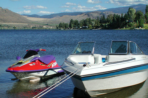 Osoyoos Lake, Osoyoos, South Okanagan Valley, British Columbia, Canada