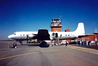 DC-6 ZS-XXX (Now ZS-MUL)