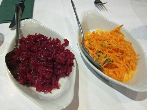 Beetroot and Carrot Salads