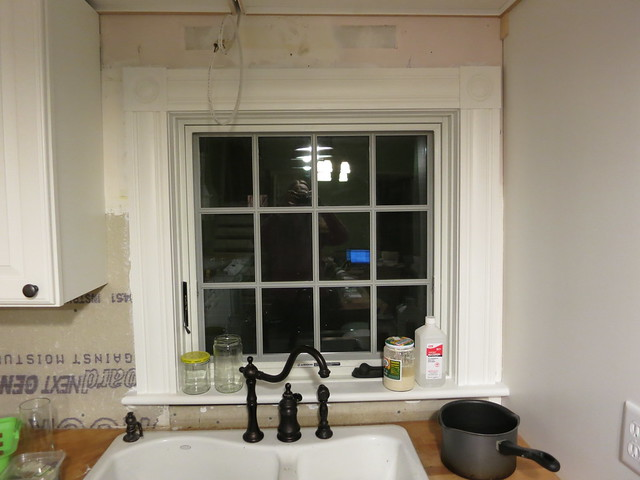 Attrayant Kitchen Window Trim