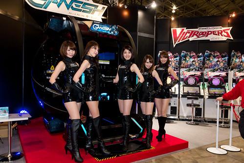 KONAMI -Japan Amusement EXPO (JAEPO) 2014 (Makuhari, Chiba, Japan) by t-mizo