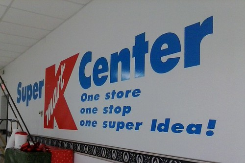 New Concept at Kmart!