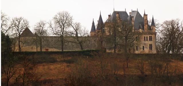Castillo de Montaigne (Périgord, Francia)