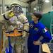 Small photo of Orlan airlock training as third operator
