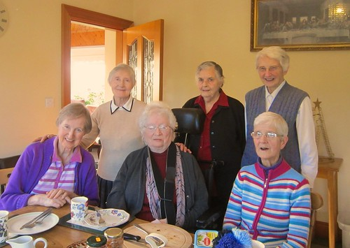 Some of the sisters from the Middletown Community