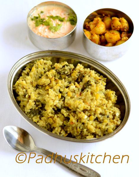 Barley Spinach Khichdi