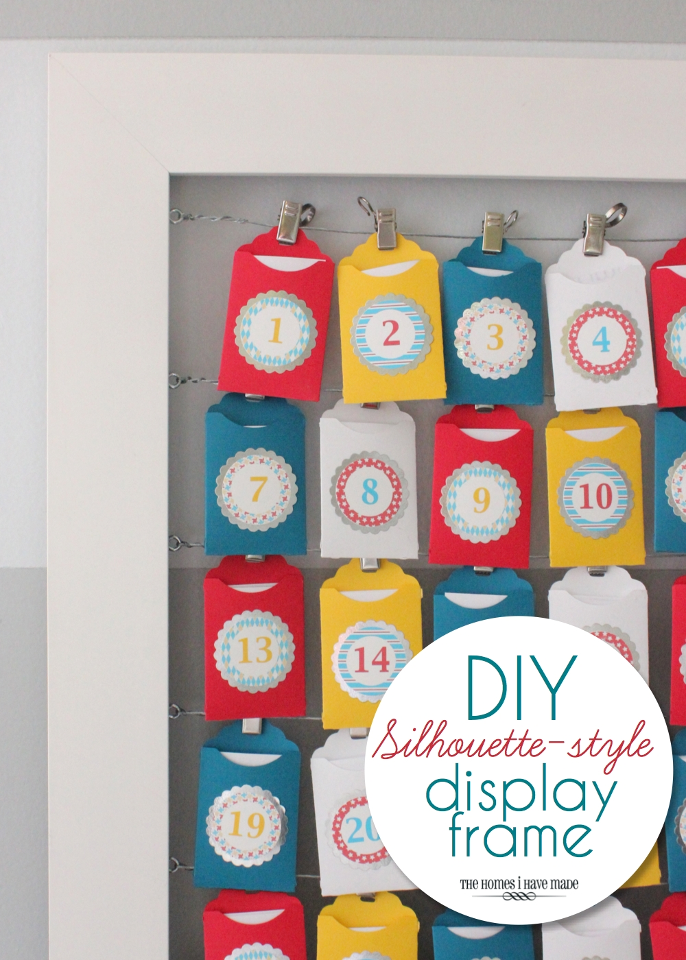 DIY Advent Frame-009