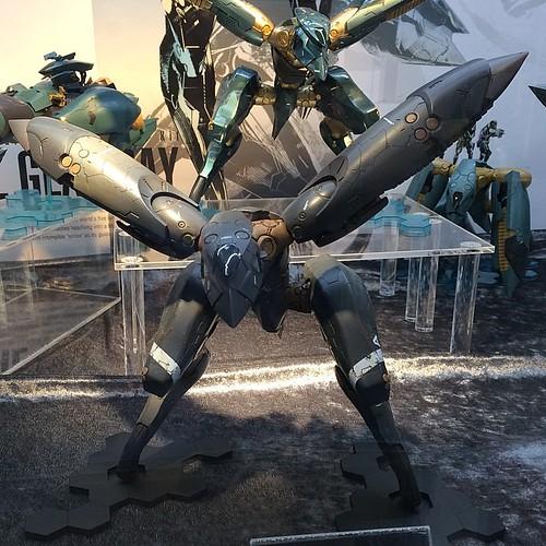 新川さんがコジステで作ってたメタルギアRAY、かっこえぇ!!! #コジステ