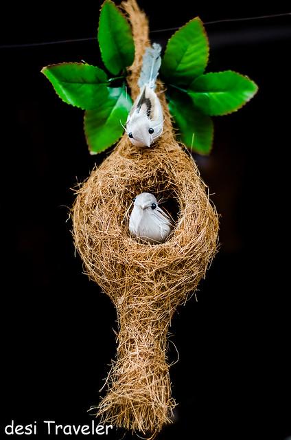 coir bird nest shopping Kerala