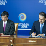 47th Annual Meeting - Landmark Cofinancing Accord Signed by ADB and Kazakhstan