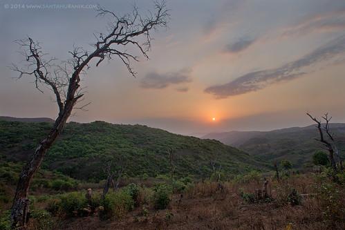 morning india sunrise landscape dawn maharashtra 2014 temghar