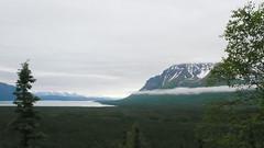 Widok z drogi do Doliny 10000 Dymów