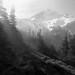 Filtered Rays, Mt. Hood
