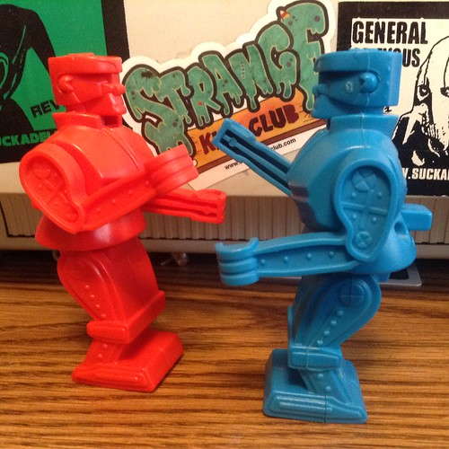 BK Rock Em Sock Em Robots