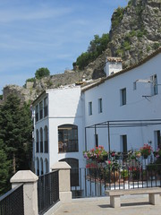 Zahara de la Sierra, white town in the province of Cadiz, region of Andalucia, Spain