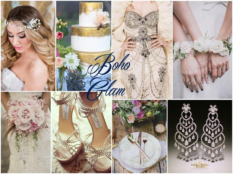 Bohemian Glam Bridal Style Bridal Styles