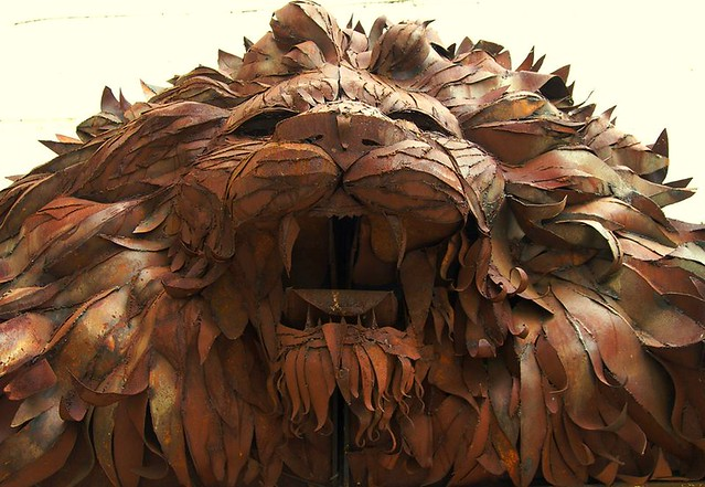 Custard Factory lion, by Parmjit Flora