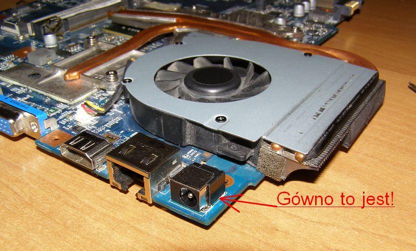 laptop gniazdo zasilania1