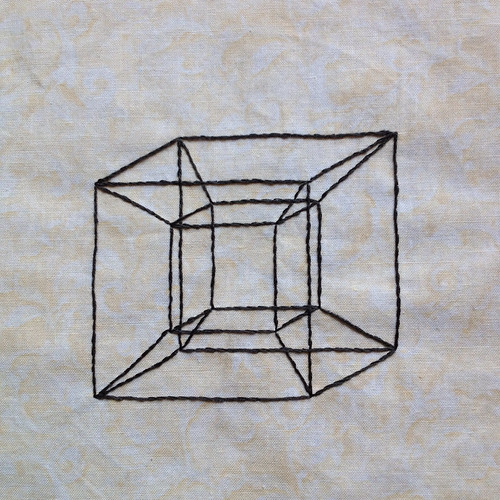 Geometric Tesseract: A Wrinkle in Time