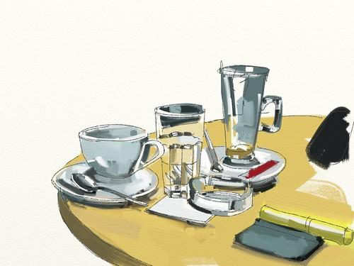 Costa Coffee 385 by Richard Carl Pearson
