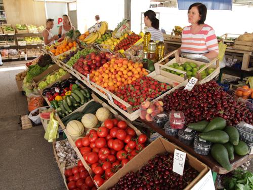 Hvar market