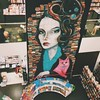 Because The Lady and Cat wall art in @_fullybooked deserves a post of its own. #bookstagram #vscocam