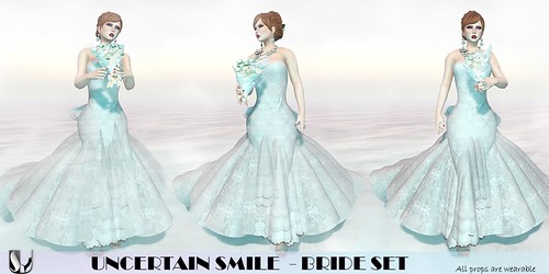 UNCERTAIN SMILE BRIDE SET