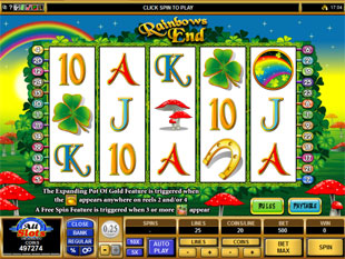 Rainbows End Slot Machine