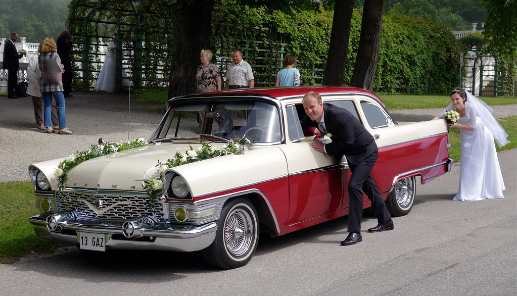 A Soviet copy of the 1957 Chevy