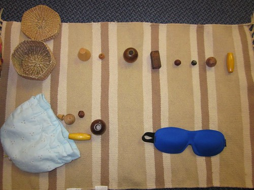 Mystery Bag Matching Activity (Photo from Inspired Montessori and Arts at Dundee Montessori)