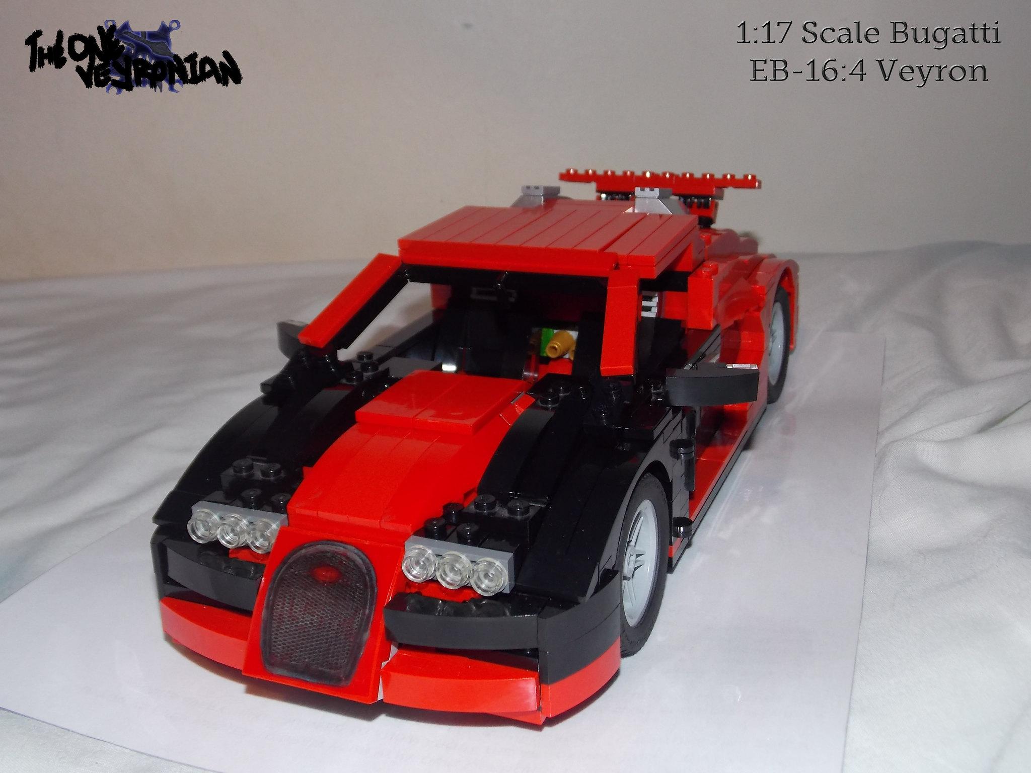 lego moc bugatti veyron 14 studs wide 1 i completely f flickr photo sharing. Black Bedroom Furniture Sets. Home Design Ideas