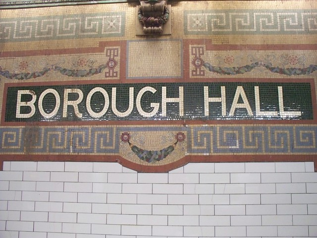 Brooklyn, NY - Borough Hall/Court St Subway Station