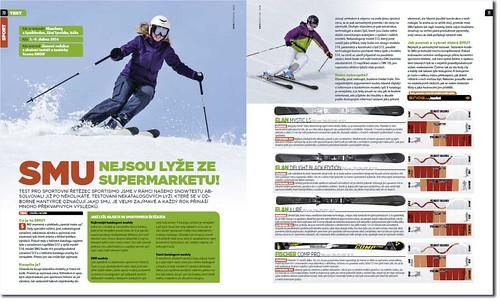 3a7eda84412 Test pro sportovní řetězec Sportisimo jsme v rámci našeho SNOWTESTU  absolvovali již po několikáté. Testování nekatalogových lyží