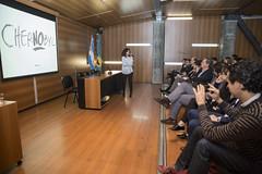Anabella Salem participo de la charla de el colectivo el Fantasma de Heredia en la UM