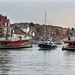 Swinging in Whitby by tarboat