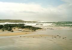 An atlantic beach on Islay