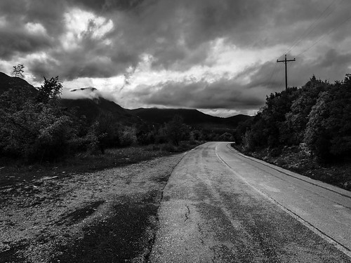 blackandwhite vikos road nature mountains eyelead greece shachorlavanil color clouds ioannina ipirosditikimakedonia gr