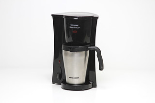 Black and Decker single cup coffee machine